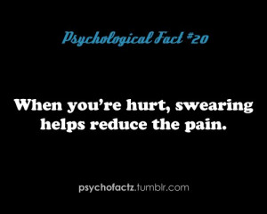 pain, psycho facts, quotes, random fact