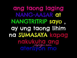 Tagalog Love Quotes...