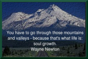 Wayne Newton Quote On Growth