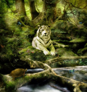 The White Tiger As Your Spirit Guide
