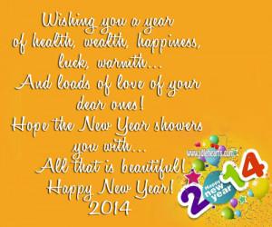 New Year 2014!, Beautiful, Happiness, Happy, Happy New Year, Health ...