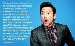 Quotes -Robert Downey, Jr.