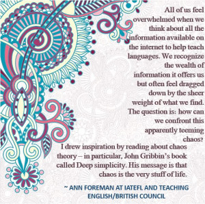 Best English Teacher Quotes Quote by ann foreman