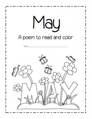May Poems For Kindergarten...