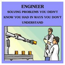 funny engineering joke Poster