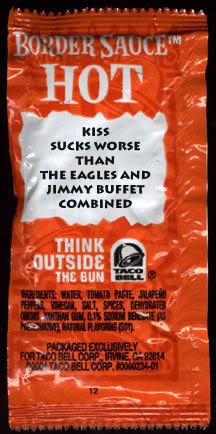 Taco Bell's 9 Strangest Sauce Packet Quotes