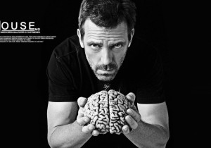 quotes brain grayscale hugh laurie monochrome gregory house desktop ...