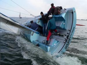 Re: What makes a good V-bottom sailboat hull?