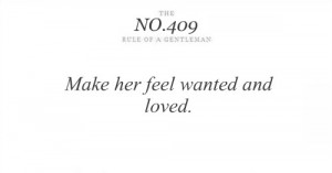Make her feel wanted and loved ~ Astrology Quote