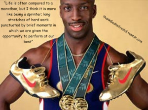 Michael Johnson. Track Motivation! The man I looked up to in my ...