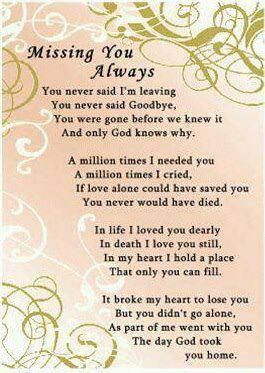 For my Grandparents, Aunt and Uncle
