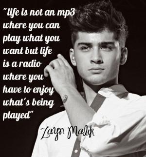 Zayn Malik Quotes!