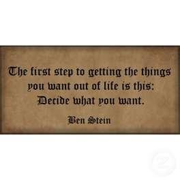 Ben Stein quote