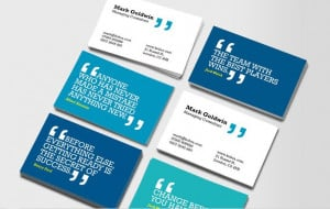 Business Card is Just Another Art Canvas!
