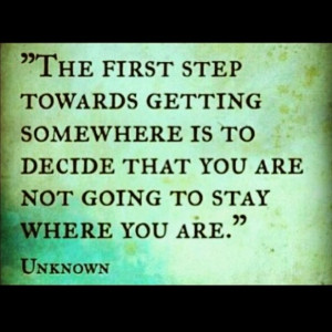 Take that step... :-)