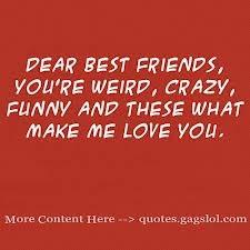 Dear best friends
