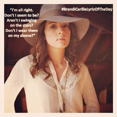 ... carlile songstress i m alright brandy carlile lyrics brandi carlile