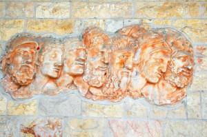 Ancient Greek Heroes Statue