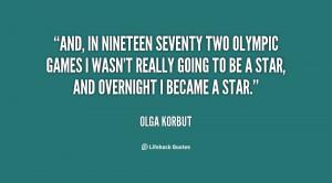 Olga Korbut Quotes