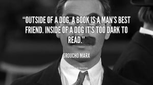 Groucho Marx Quotes Politics Quote-groucho-marx-outside