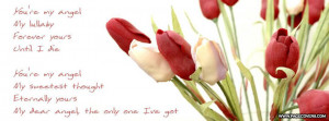 My angel love quotes wallpapers