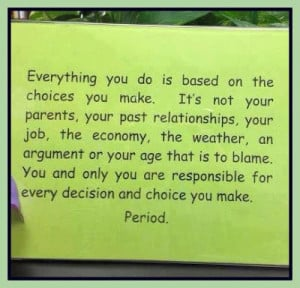 responsibility inspirational quote responsibility quotes motivational ...