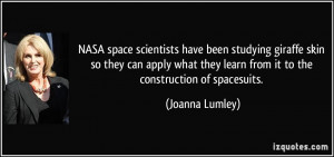 More Joanna Lumley Quotes