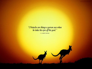 Quotes-obstacles wallpapers