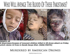 Innocent Pakistani Children Killed In US Drone Attacks. US Terrorism