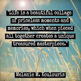 Life is a beautiful collage of priceless moments and memories, which ...