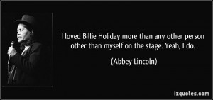 Billie Holiday Quotes