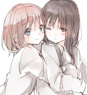 Madoka Magica #anime #yuri #shoujo-ai Girls Friends Yuri, Animal Art ...