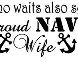 Proud Navy Wife Car Decal- FREE SHI PPING ...