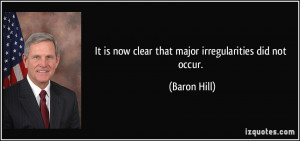 More Baron Hill Quotes