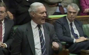 Speaking in September 1990, the late Tony Benn voices his opposition ...