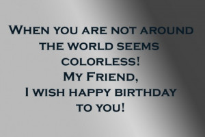 happy birthday guy best friend quotes