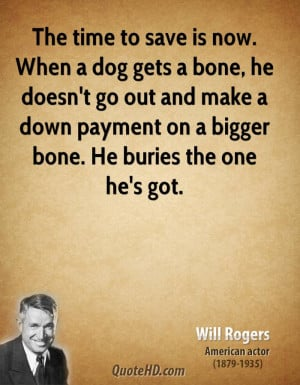 Will Rogers Time Quotes