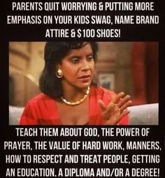 MEME OF THE DAY: Parenting advice courtesy of Claire Huxtable, Esq ...