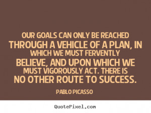 Pablo Picasso Quote About Success