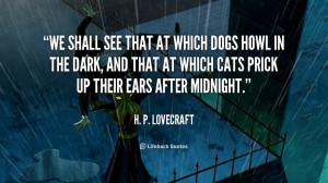 Lovecraft Quotes