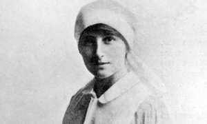 Blazingly honest' ... Vera Brittain in VAD uniform during the first ...