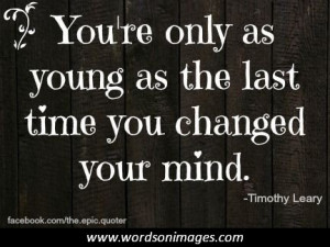 Timothy leary quote