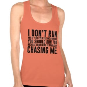 Don't Run Funny Running T-Shirt