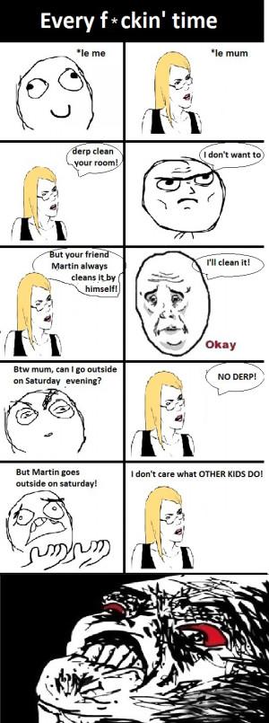 Funny Mom Logic - Comic