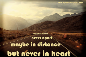 Distance Quotes HD Wallpaper 8