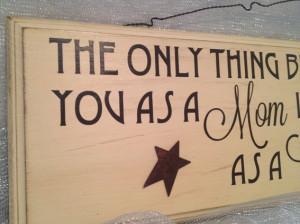 Custom Made Custom Wood -- Quote Board