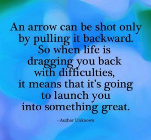 When life gets difficult....