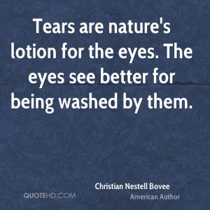 Christian Nestell Bovee Nature Quotes