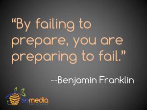 Benjamin Franklin Quote...