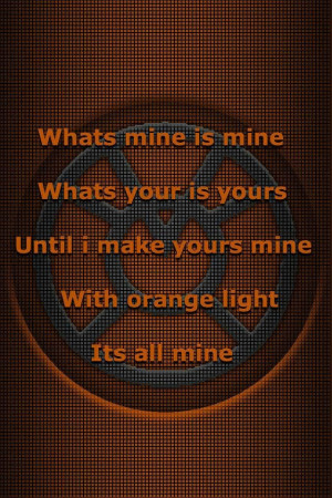 Orange Lantern corps oath